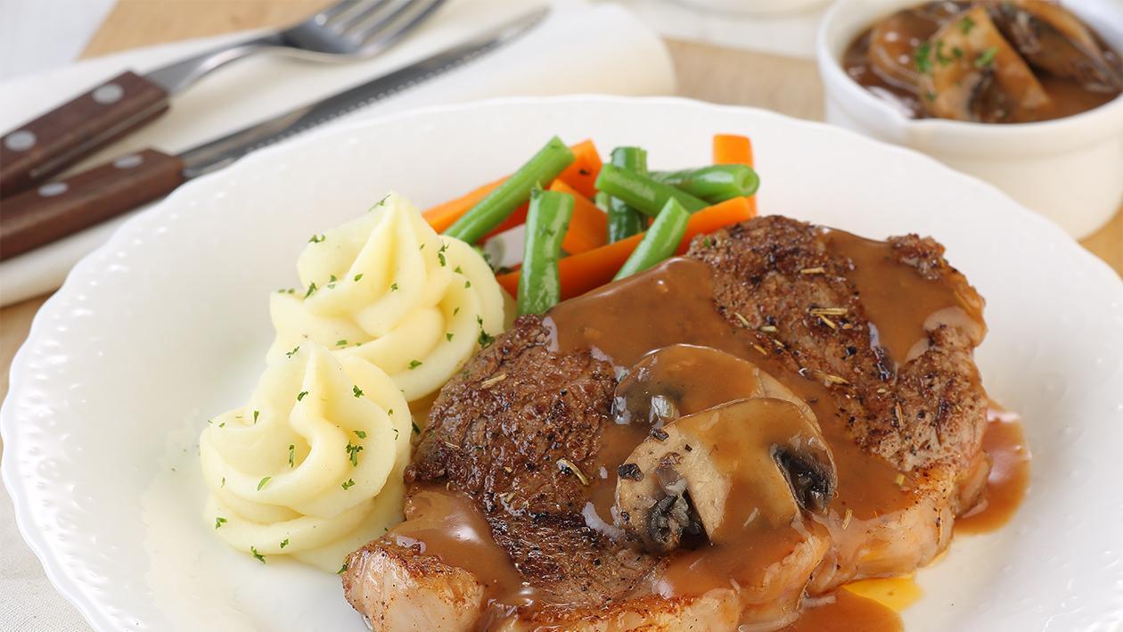 steak jamur